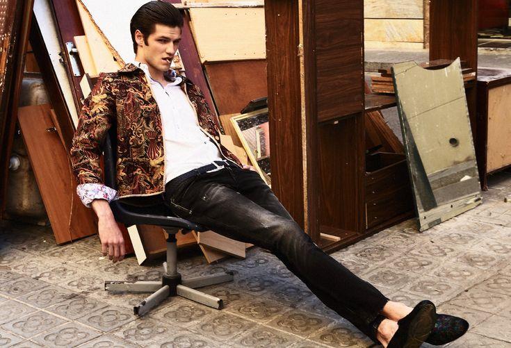 Photographer: Sebastián Troncoso Stylist: Gigi de Amico Make Up: Vanessa Crespo Model: Tristan @ Elite Barcelona Photo Assistant: Nina Lases