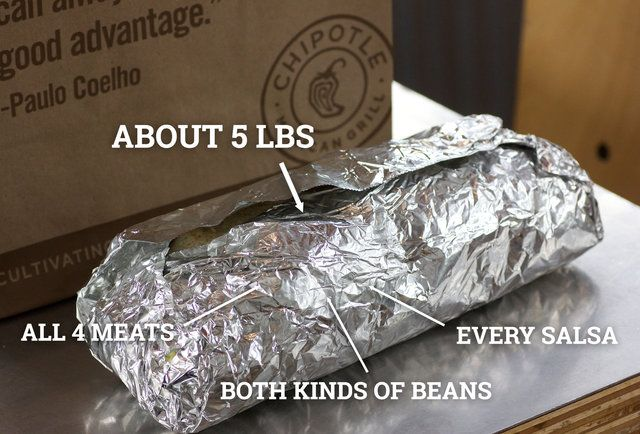 We Put Everything on Chipotle's Menu Into One Glorious Burrito