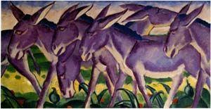 Eselfries, Franz Marc