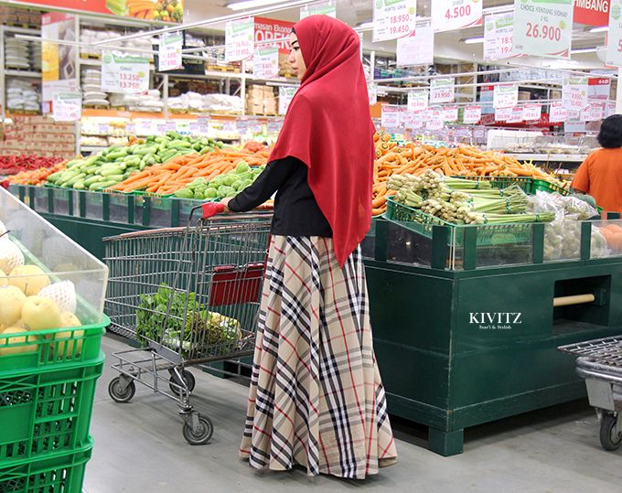 KIVITZ: Shopping at Grocery Store
