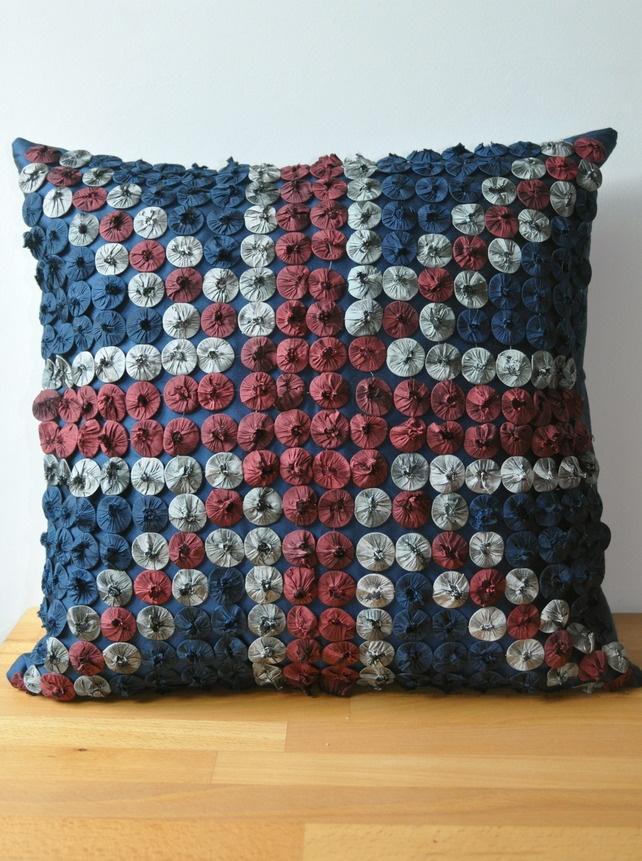 Hand-Made Union Jack Cushion £150.00