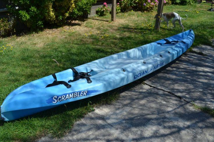 Loue 2 kayaks 1 place (  1 adulte et 1 enfants possible)Gilet de sauvetage (enfants et adultes)Pagaies,sièges,bidon transport,porte kayak