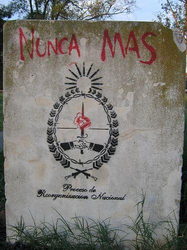 NUNCA MAS By NAZZA Stencil