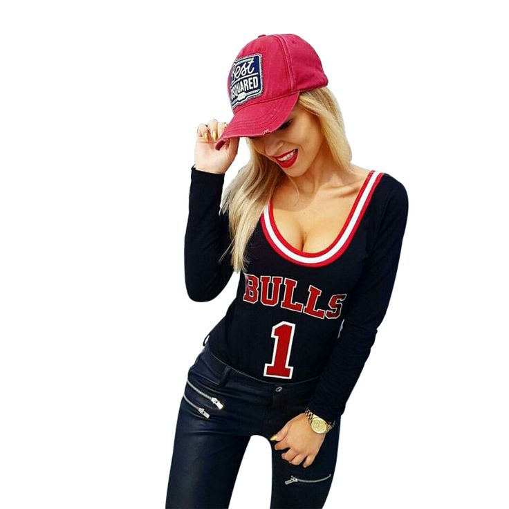 Chicago Bulls Fans - You'll love these bodysuits and they are available in red and black!