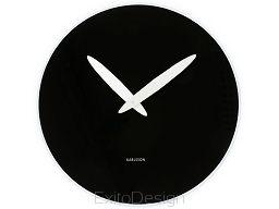 Zegar ścienny Bold Hand black by Karlsson