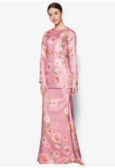 Prisma Baju Kurung Moden from Bianco Mimosa in pink_1