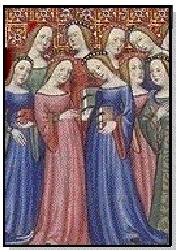 En cuanto al maquillaje, las costumbres variaban según el país, y las tonalidades eran especificas de cada rango social. Algunas mujeres usaban pintura soluble en agua para resaltar el tono de piel.en España, en el siglo VI, las prostitutas utilizaban pintura rosada sobre las mejillas. Tres siglos mas tarde, las mujeres pobres d Alemania hacían lo mismo. En Gran Bretaña, se aplicaban color blanco, mientras q las italianas intentaban simular un aspecto natural aplicándose pintura de color…