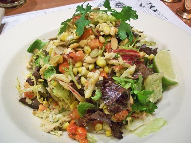 Nordstrom Lime & Cilantro Chicken Salad RECIPE: http://www.food.com ...