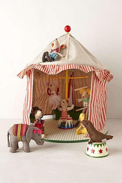 Anthropologie - Magical Mice Big Top--create soft toys for my girls