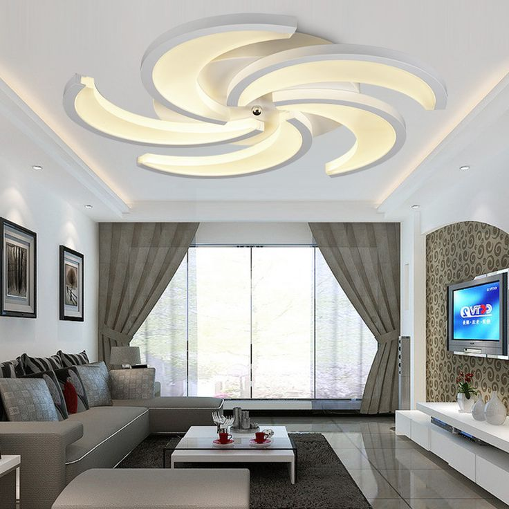 Acrylic Novelty led ceiling lights for living room bedroom home indoor…