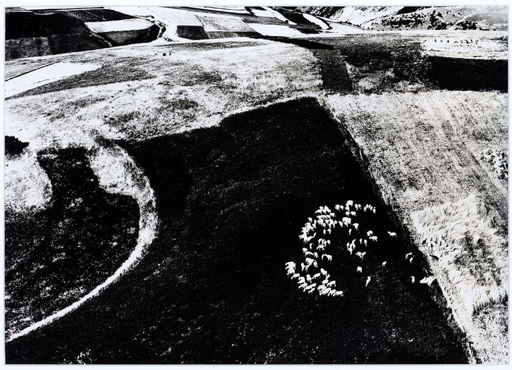 Mario Giacomelli (1925 - 2000) - Untitled (Landscape) from the series Paesaggi, 1964-1974.