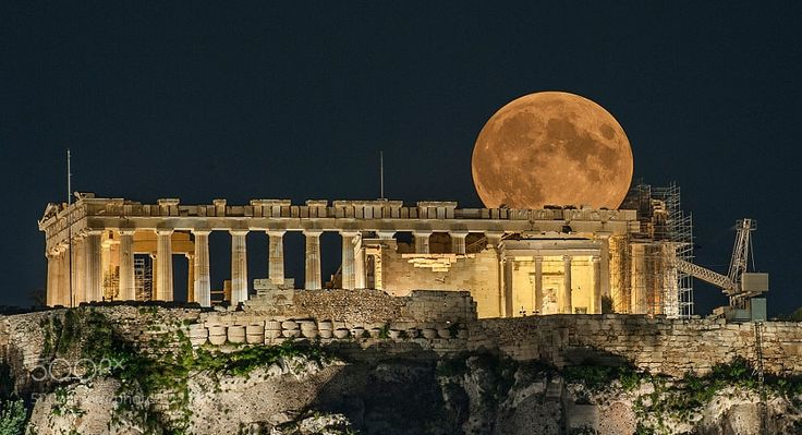 Acropolis of Athens by AtleRiska from http://500px.com/photo/211787525 - The Acropolis of Athens is an ancient citadel located on an extremely rocky outcrop above the city of Athens and contains the remains of several ancient buildings of great architectural and historic significance the most famous being the Parthenon.. More on dokonow.com.