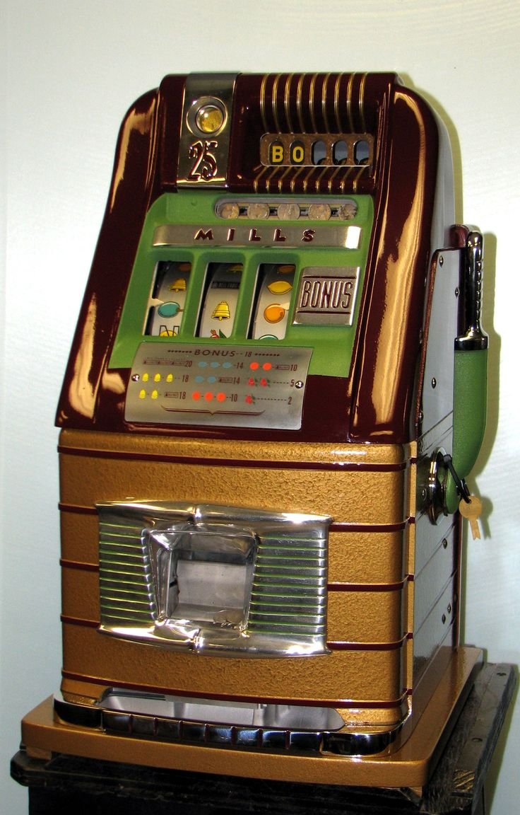 Antique Slot Machine