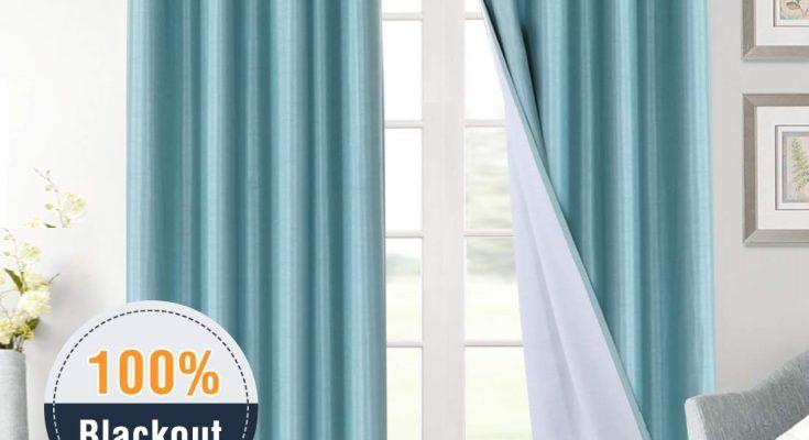 H Versailtex Full Blackout Curtains For, Curtains 108 Inch Length