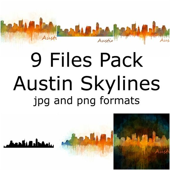 GREAT OPORTUNITY Great bundle... Save up 70%  Austin Skylines