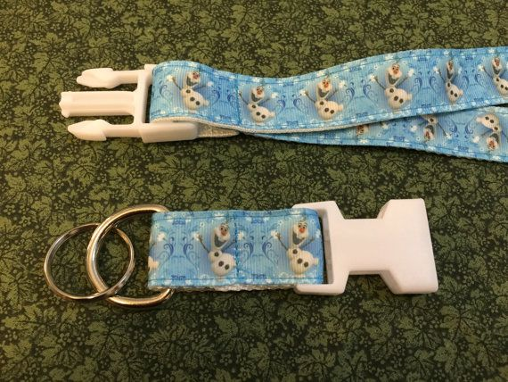 Olaf the Snowman from Frozen Keychain Lanyard with by dmbrohm