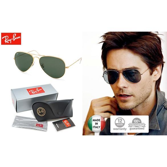 Ray-Ban Aviator Sunglasses (RB3025) | SALE | MyDeal