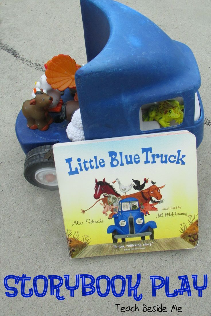 Little Blue Truck Story Play via /karyntripp/