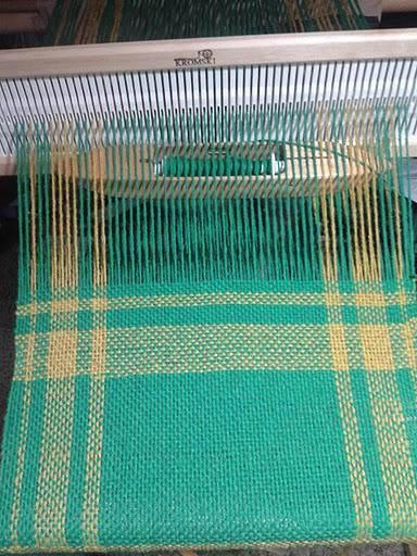 Rigid heddle loom practice runner