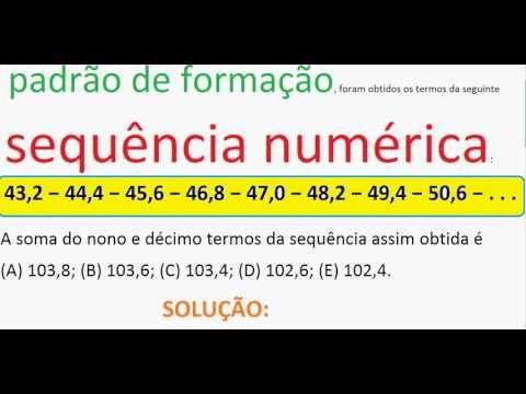 Curso de Matemática Sequência numérica Progressão Aritmética PA Aula Exe... https://youtu.be/rrRakafmfG8