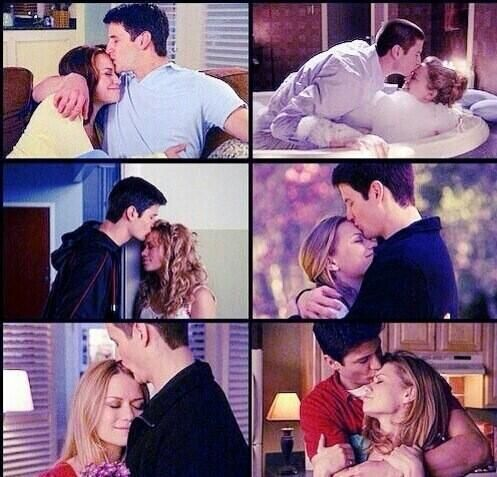 Naley Forehead kisses are bomb, lets face the facts, any haley kiss gives me chills xoxo F