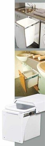 Often rubbish is an afterthought in bathroom design, and it ends up being placed in a small bin in the corner of the room which is ultimately an eyesore in the overall design. The integration of a Hideaway bin system into a vanity unit will prove to be one of the most important assets within a new 'functional' bathroom.