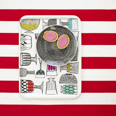 can't tell you how long i've been in love with this Marimekko tray. 3 years to be exact.