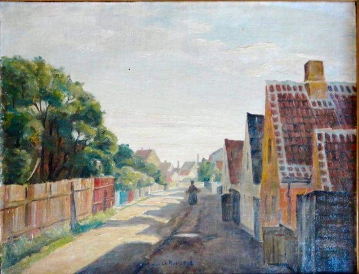 Finlandsgade. Af Johan Rohde (1856-1935)
