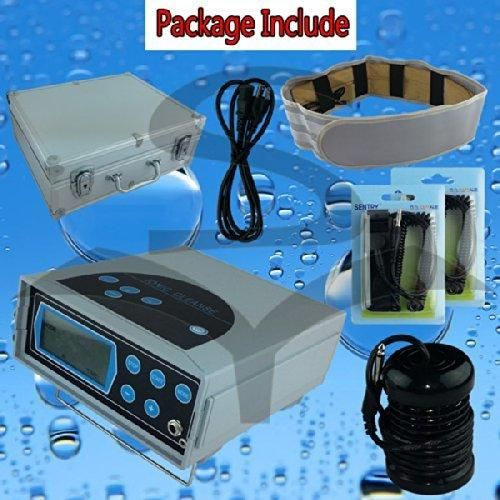 Ionic Foot Detox Machine Ion Foot Bath Spa Cell Cleanse with Far Infrared belt CHI