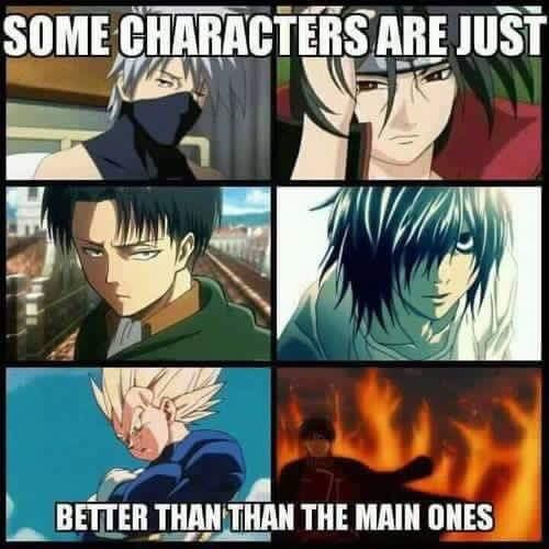 True. Ecxept for Naruto. In this anime I think Naruto, Hinata & Itachi are the best ones...