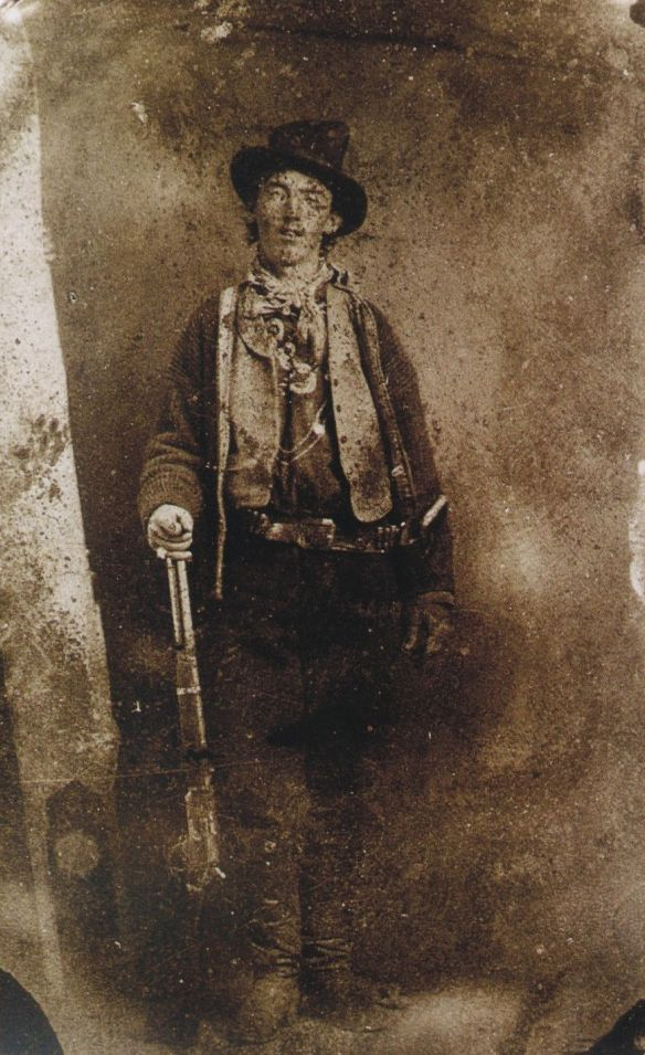 Only known authenticated picture of William Bonny aka Billy the Kid 1879 [584 × 955]