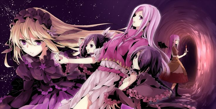 Death and the Horizons   Source: PIXIV