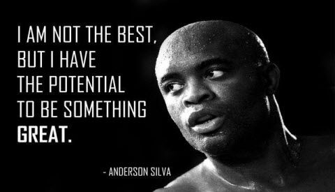 """Meet the extraordinary Anderson Silva (or more popularly known for his nickname """"The Spider"""").         For six straight years he held the Ultimate Fighting Championship Middleweight division title, the longest winning streak for any MMA fighter who participated in the world-famous event. """"I am ready to fight the best"""". Anderson Silva http://www.thextraordinary.org/anderson-silva"""
