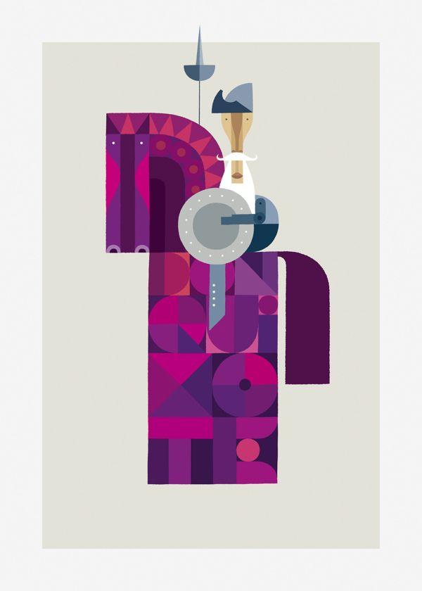 Quixote by martin leon barreto, via Behance