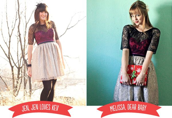 modcloth lace top and high waisted skirt. Lurve: Lace Tops, Waist Skirts, High Waist, Outfits Inspiration, Modcloth Lace, Style Pinboard