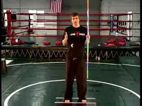 Bo Staff Attack Techniques : Bo Staff Stationary Spin