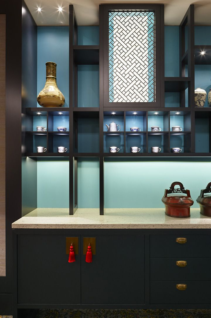 Mings Dim Sum restaurant at Crown Casino by Red Design Group, Melbourne store design