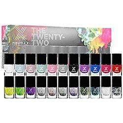 Sephora: Formula X For Sephora : The Twenty-Two : nail-polish-sets-kits #sephorasweeps