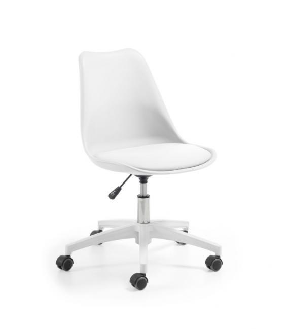 sillas de escritorio juvenil blancas