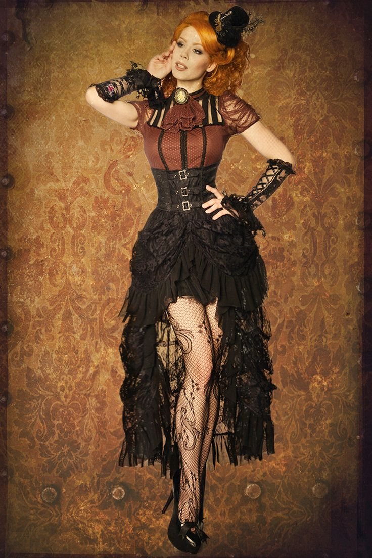 http://www.sassymania.nl/burlesque/steampunk-rok