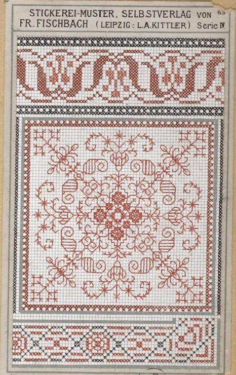 Gallery.ru / Фото #111 - старинные ковры и схемы для вышивки - SvetlanN