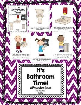 A Bathroom Procedure Book by Ms Preschool | Teachers Pay Teachers