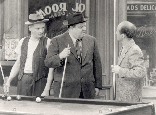 honeymooners tv show comic books | Still of Jackie Gleason and Art Carney in The…