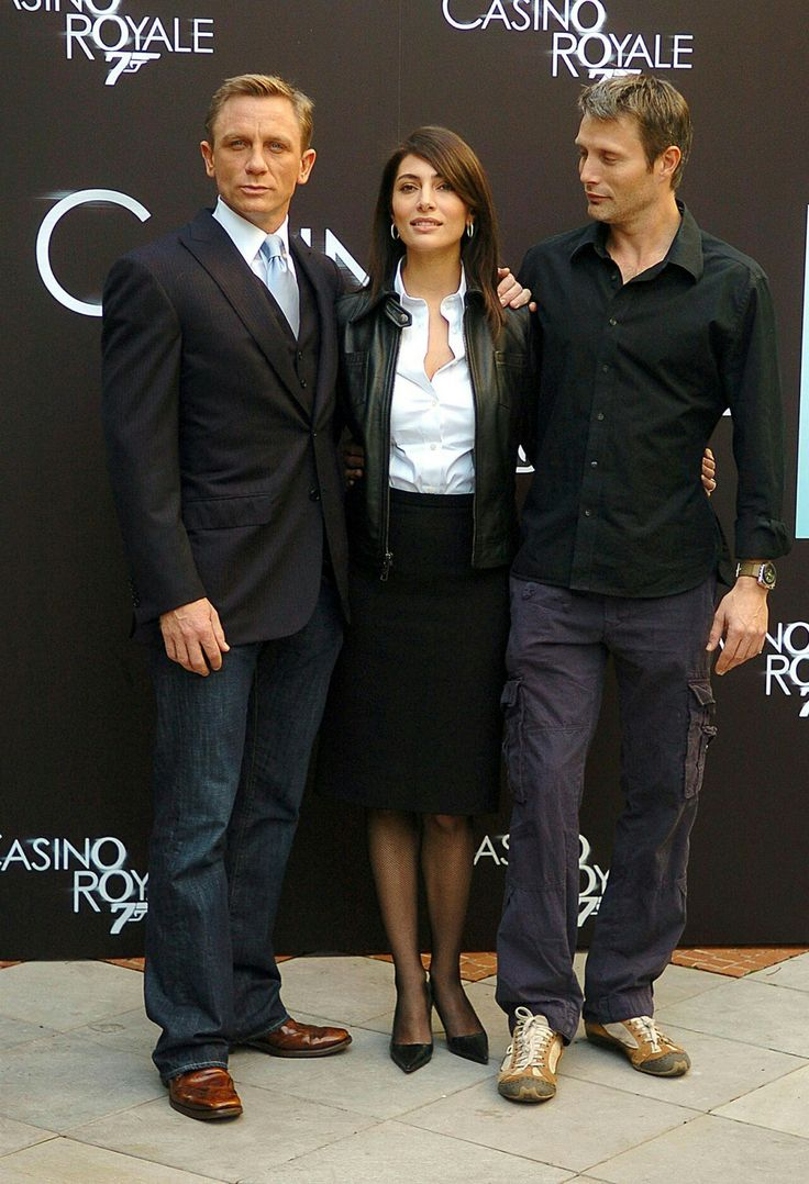 Daniel Craig and co-stars at 10th anniversary of Casino Royale