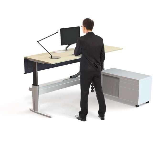 Paradigm Sit Stand | UCI Electric height-adjust desk. Australian designed and manufactured. GECA Certified. AFRDI Blue Tick certified. uci.com.au
