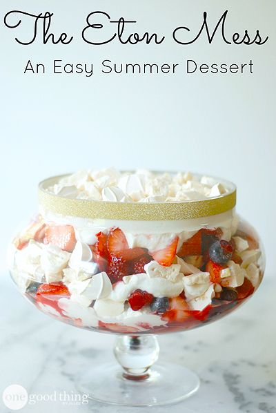 Ed Baines' Eton Mess Recipes — Dishmaps