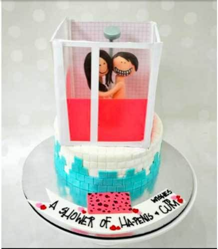 bachelorette cake in delhi | Adult style cute bachelorette Cakes and cake pops in delhi for the indian bride and her bridesmaids| bachelorette cake| adult theme| kinky cakes| funny cakes in delhi | bachelorette ideas| bachelorette party ideas| indian Weddings| indian brides|funny cake ideas| The ultimate guide for the Indian Bride to plan her dream wedding. Witty Vows shares things no one tells brides, covers real weddings, ideas, inspirations, design trends and the right vendors.