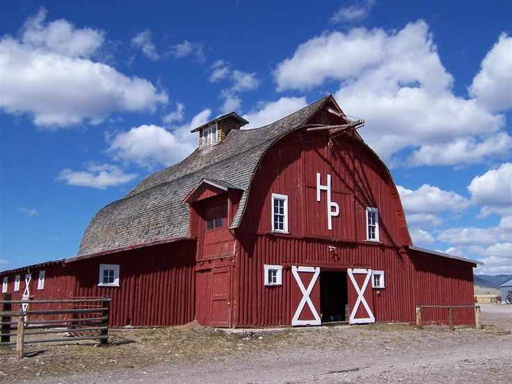 How could you not love this barn?!