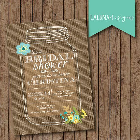 Top 25+ best Burlap bridal showers ideas on Pinterest | Wedding ...