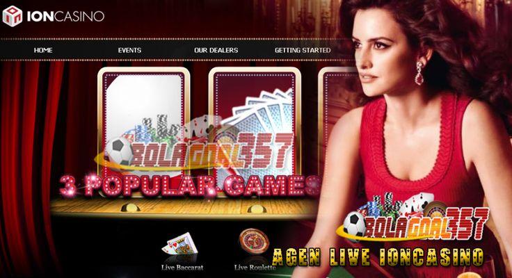 ION Casino singkatan Interaktif Online Netrworking Casino. IONCASINO adalah pelopor interaktif  pertama dan Multi Pemain Online Live Casino.
